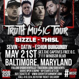 The Truth Music Tour 2017 in Baltimore, Maryland on May 21, 2017