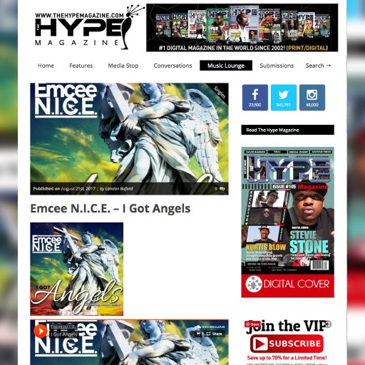 I Got Angels | Hype Magazine